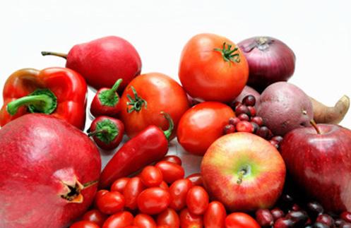 Sağlığımız İçin Kırmızı Meyve Ve Sebzeler